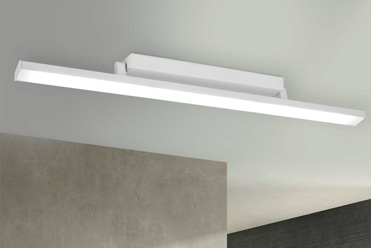 Plafoniera Muro Led : Plafoniera led linear made in italy 3079