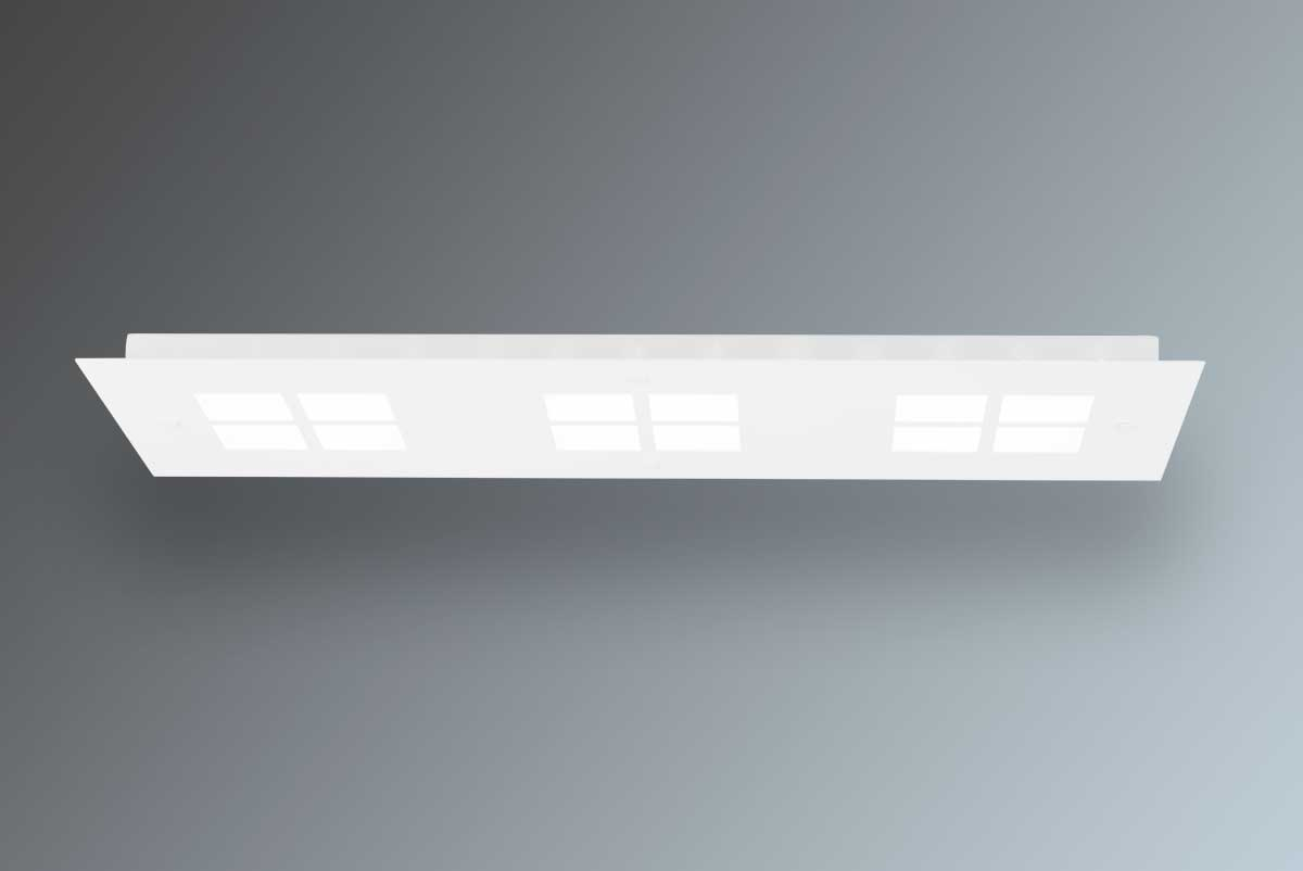 Plafoniera A Parete Per Interni : Plafoniera led delta made in italy 9635 pl01